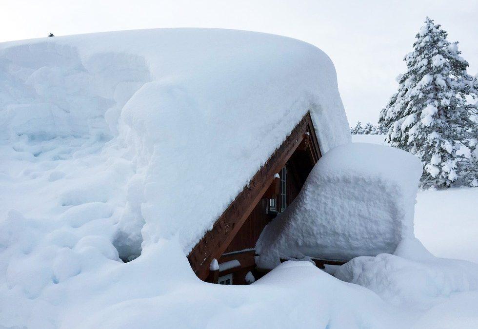 Tåler norske hyttetak mer snø..!?